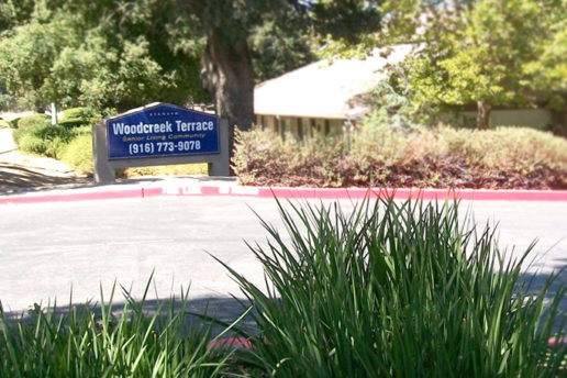 Woodcreek Terrace sign